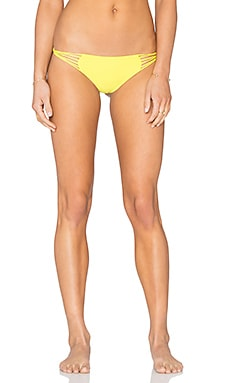 MIKOH Lanai Loop Side Bikini Bottom in Lilikoi