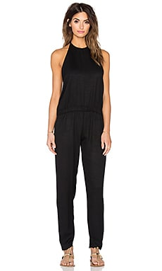MIKOH Tortuga Halter Jumpsuit in Night