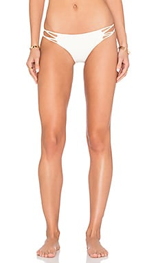 Molokai Side Knot Bikini Bottom in Bone