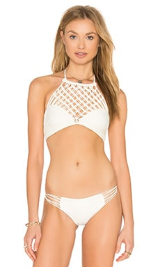 Lanikai Halter Top in Bone