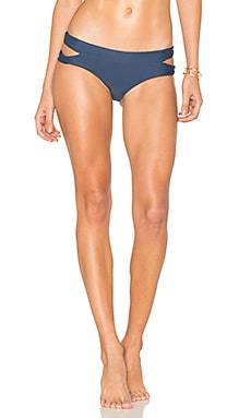 Puka Puka Bikini Bottom in Drop Off Blue
