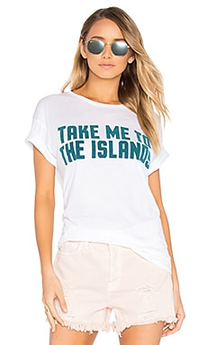 Take Me To The Islands Tee in White