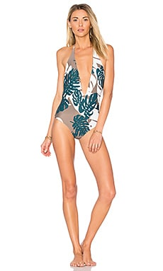 Hinano One Piece in Vintage Tahiti Bark