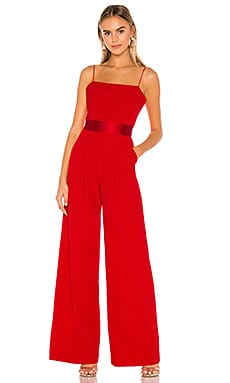 Reina Tie Back Jumpsuit MILLY $475