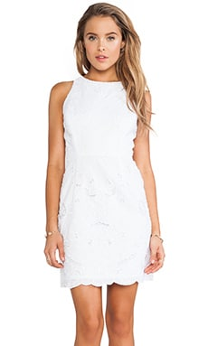 MILLY Claudia Dress in White