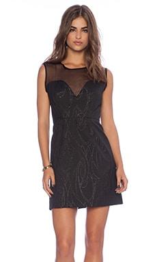 MILLY Lena Dress in Black
