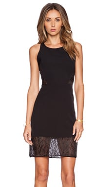 MILLY A-Line Dress in Black