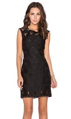 MILLY Emma Dress in Black