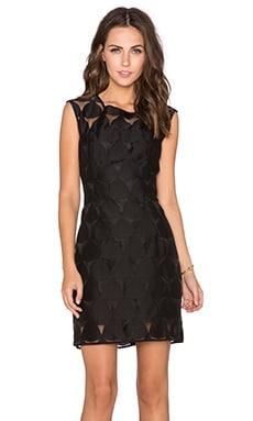 MILLY Emma Dress in Black