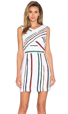 MILLY Allison Dress in Multi