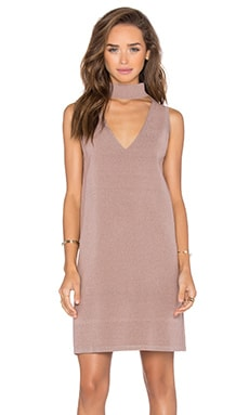 V Keyhole Dress in Ballet
