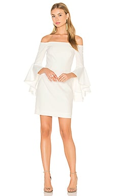 MILLY Cady Selena Mini Dress in White