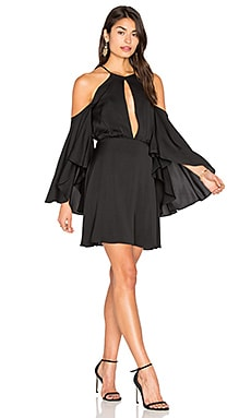 Silk Melody Dress in Black
