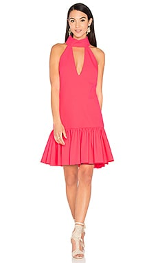 Katelyn Dress en Rose Fluo