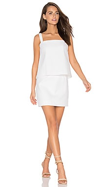 Elena Dress in White