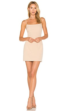 Mini Slip Dress in Nude