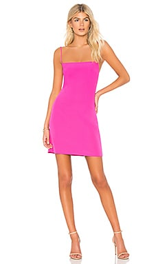 Italian Cady Mini Slip Dress MILLY $350