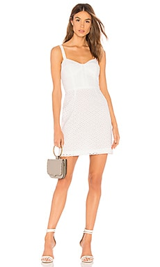 Floral Eyelet Bustier Dress MILLY $345 BEST SELLER