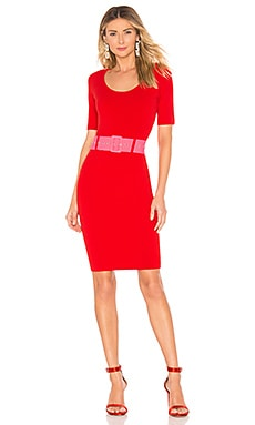 Belted Fitted Sheath Dress MILLY $161