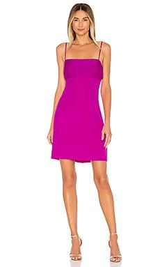 Cady Dana Silk Combo Strappy Dress MILLY $325