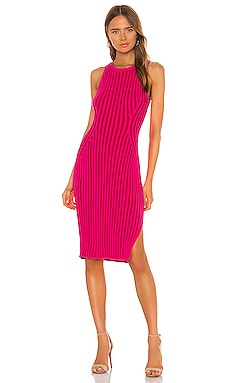 Rid Knee Length Dress MILLY $245