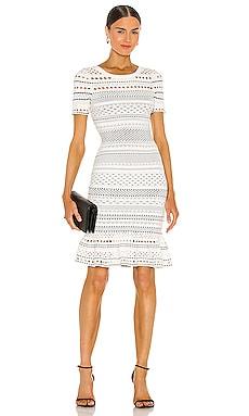 Geo Cut Out Mermaid Dress MILLY $395
