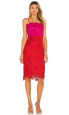 ROBE MI-LONGUE FLORAL MILLY $395