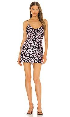 Drue Jungle Leopard Mini Dress MILLY $250