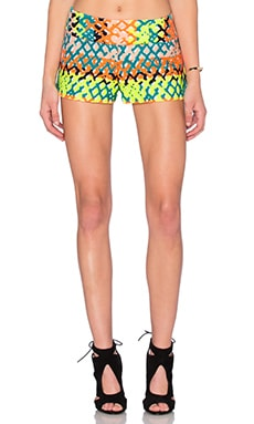 Couture Neon Jacquard Short