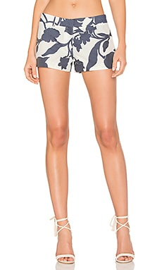 Dickies Floral Short in Navy