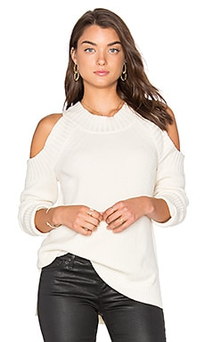 Peekaboo Sweater in White