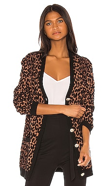Cheetah Cardigan MILLY $375 NEW ARRIVAL