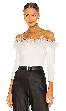 Feather Top MILLY $325 NEW