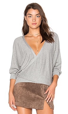 Front To Back Sweater in Grey