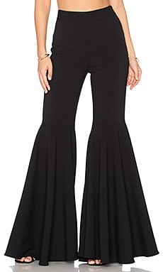 Flared Pants in Black