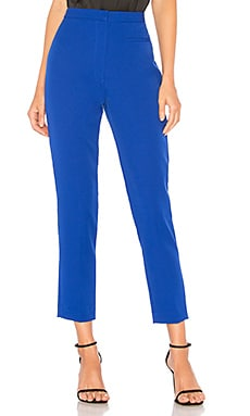 PANTALON SKINNY STRETCH CREPE HIGH WAISTED MILLY $173