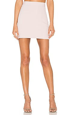 MILLY Modern Mini Skirt in Petal