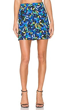 Jewel Modern Mini Skirt in Multi