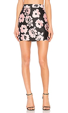 Modern Mini Skirt in Blush