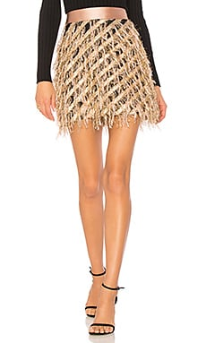 Diagonal Modern Mini Skirt