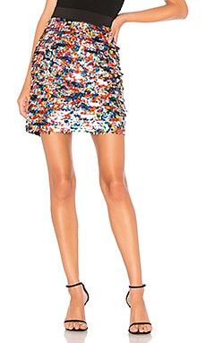Sequin Modern Mini Skirt MILLY $90
