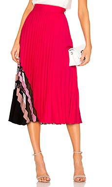 Pleat Maxi Skirt MILLY $387