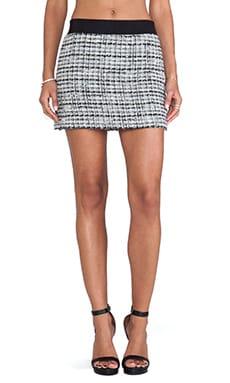Featherweight Italian Tweed Mini Skirt
