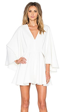 MILLY Celina Romper in White