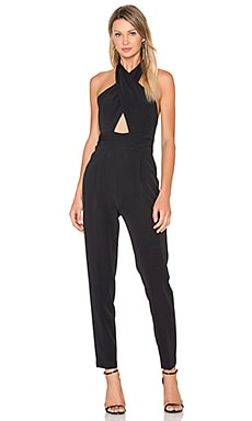 Cady Nicole Halter Jumpsuit in Black