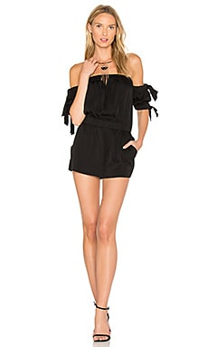 Zoey Romper in Black