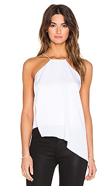 MILLY Ciara Tank in White