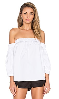 Off the Shoulder Top en Blanc