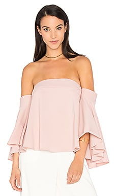 Rosa Top in Blush
