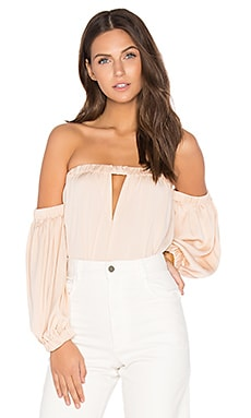 Leslie Top in Peach